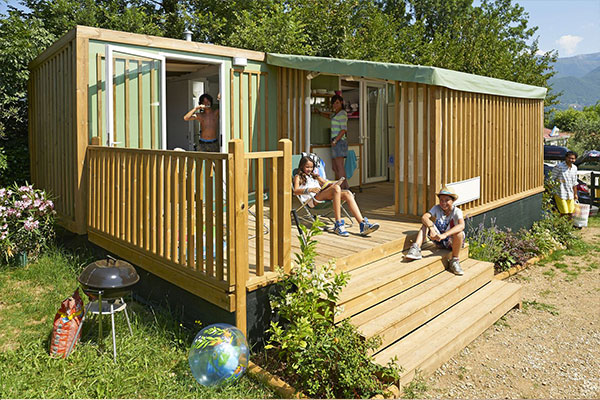 Hybridlodge Clever 4/5 persons 2 Bedrooms Bathroom